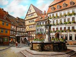Alt Halberstadt, Blick in die Harsle