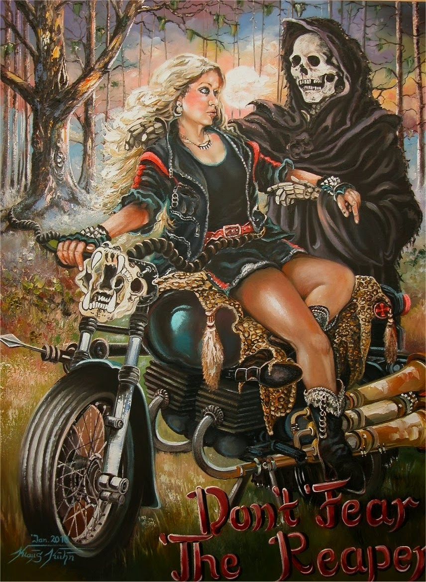 340-Don-t-Fear-The-Reaper-Oel-auf-Leinwand-60-X-80-cm