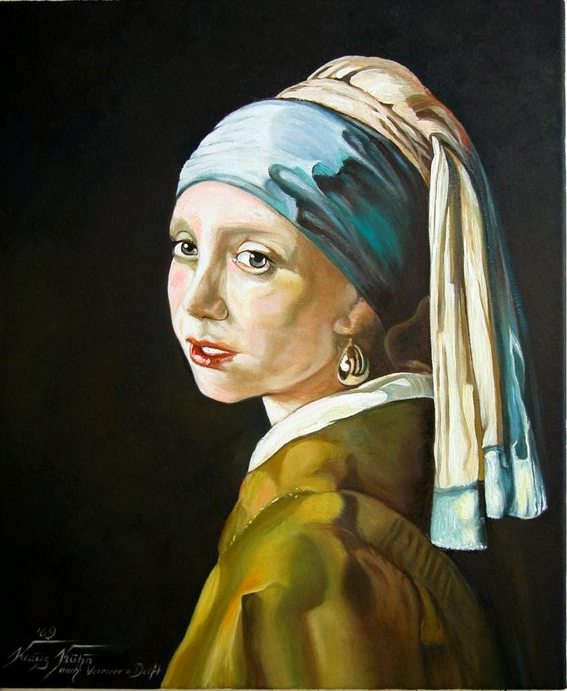 Das Maedchen mit dem Perlenohrring