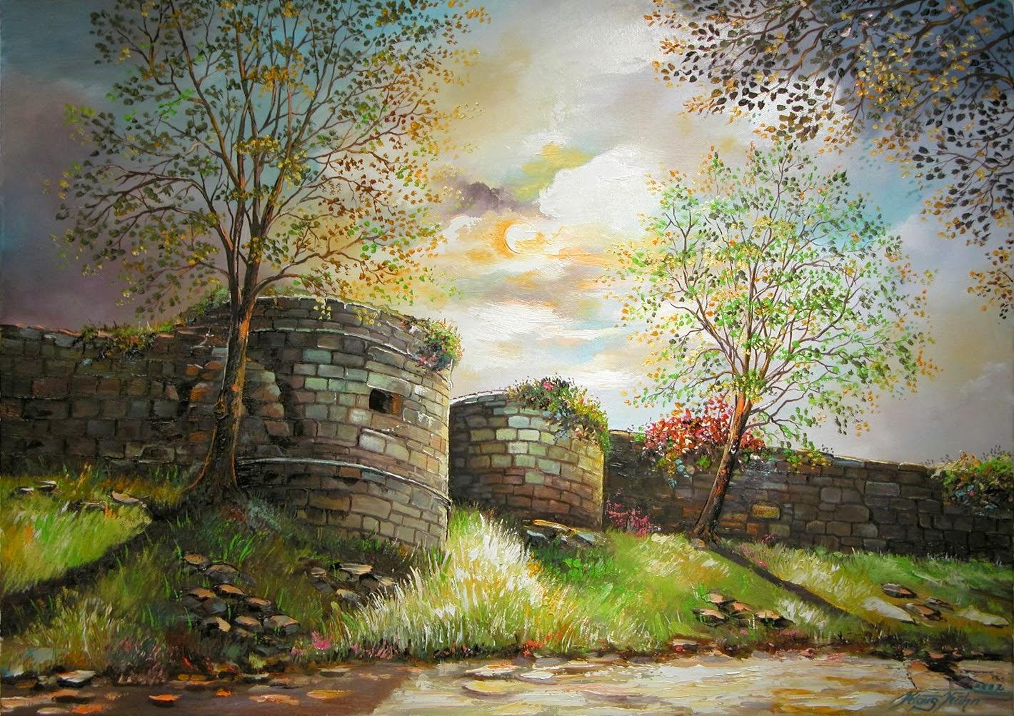 Stadtmauer in der Schützenstrasse Ha