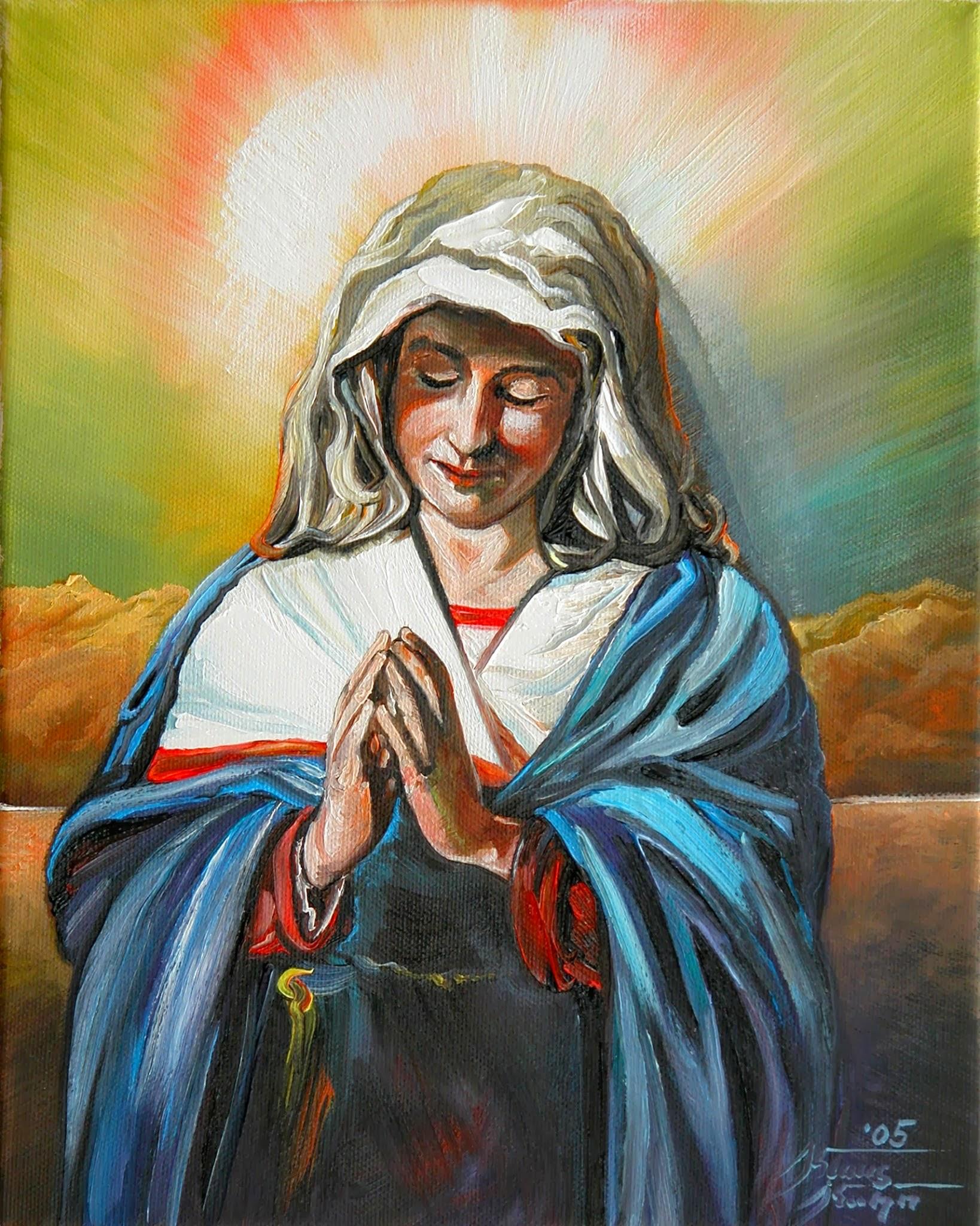 Mutter Gottes, Religiöse Malkunst