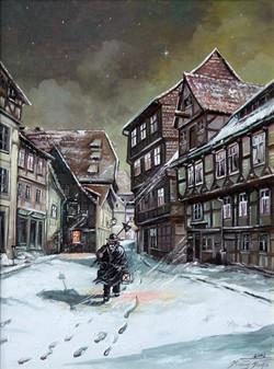 Alt Halberstadt, Winter an der Woort