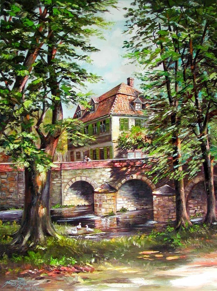 Alt Halberstadt, Holtemmenbrücke am