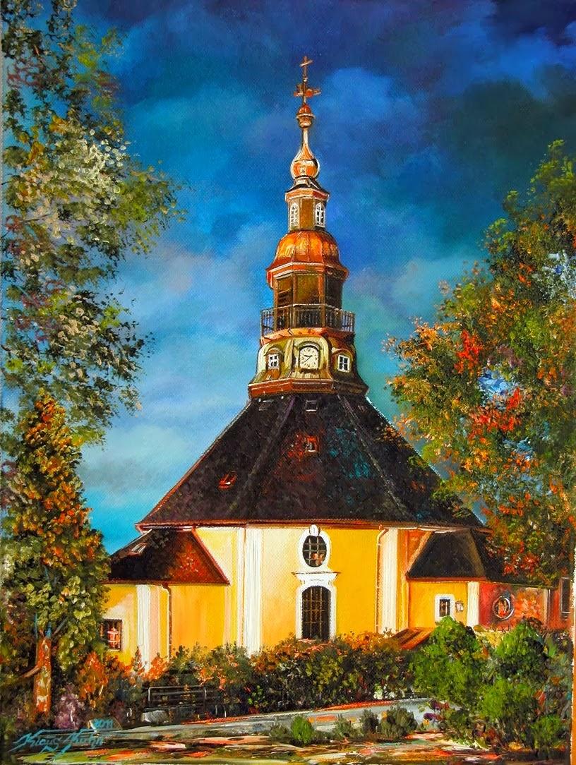 Kirche in Seiffen