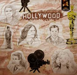 140-Werbeentwurf-zum-Thema-Hollywood-Bleistift-und-Guache-auf-Papier-70-X-90-cm-2004