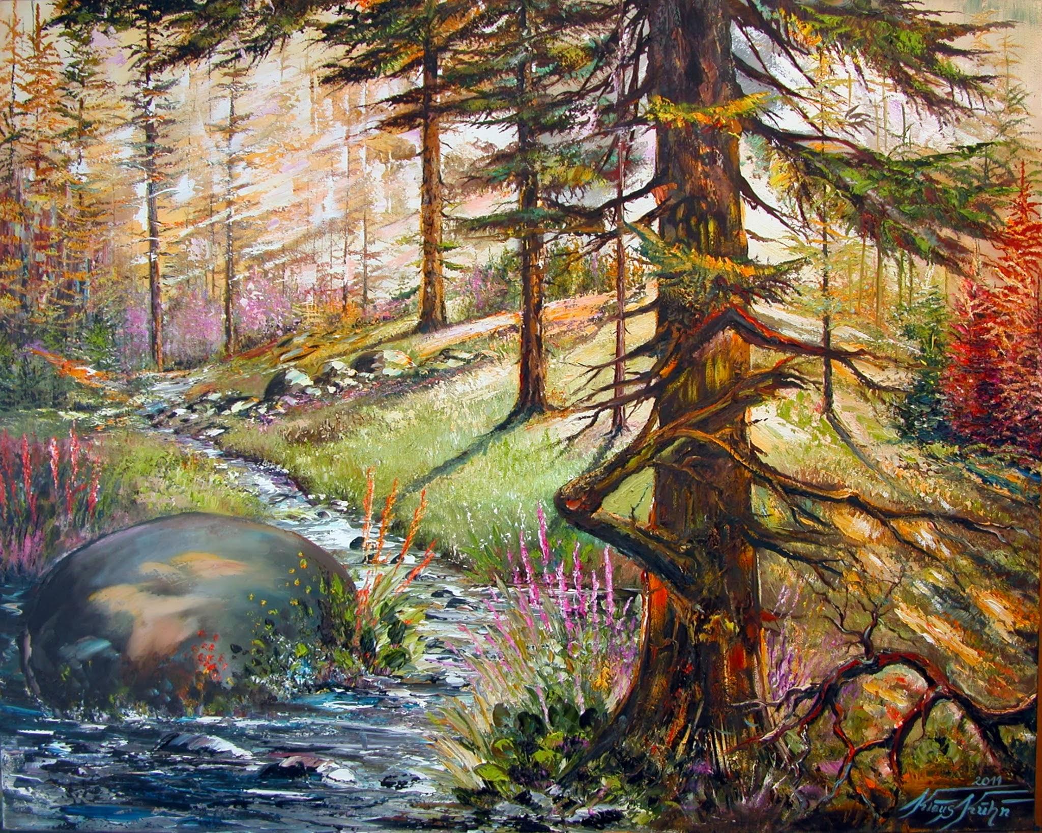 Naturimpression Gegenlicht