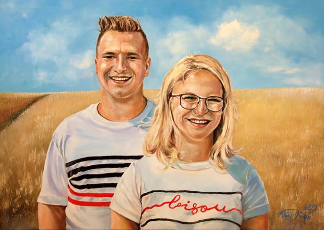 Zwillingsportrait