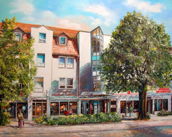 Richard Wagner Straße mit Blick zum