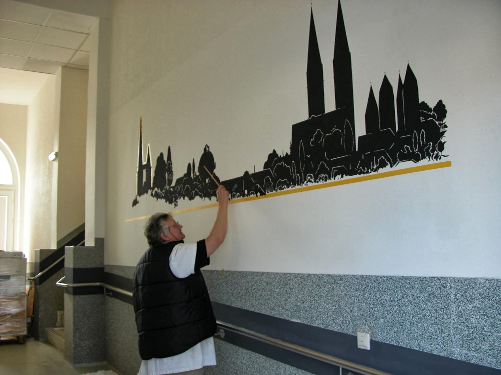 500-Wandmalerei-Flurbereich-WAP-Diakonie-Werkstaetten-Halberstadt-2010