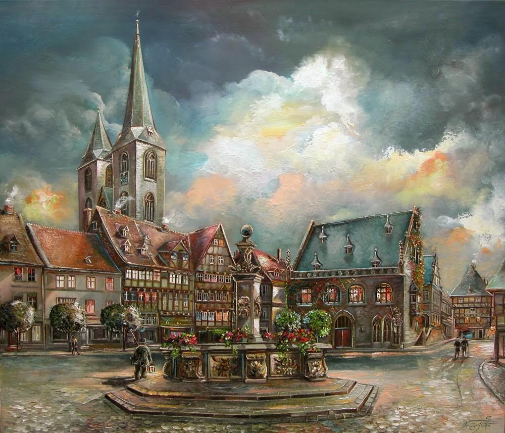 Alt Halberstadt, Holzmarkt, Abendsti