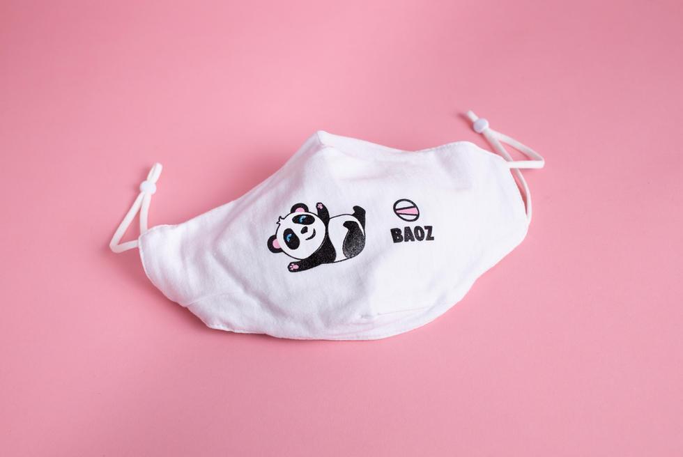 Customized Super Comfort BAO BAO Cotton Face Mask