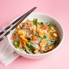 Shrimp Bean Thread Salad