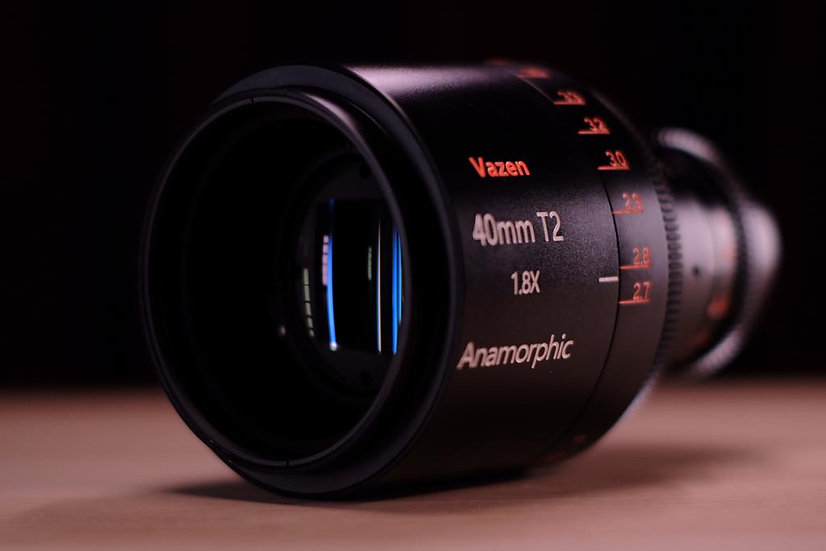 VAZEN 40MM T2 1.8X アナモフィックレンズ (MFT)