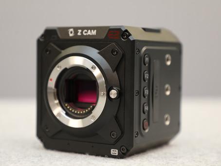 シネマカメラ Z CAM  日本国内販売開始について
