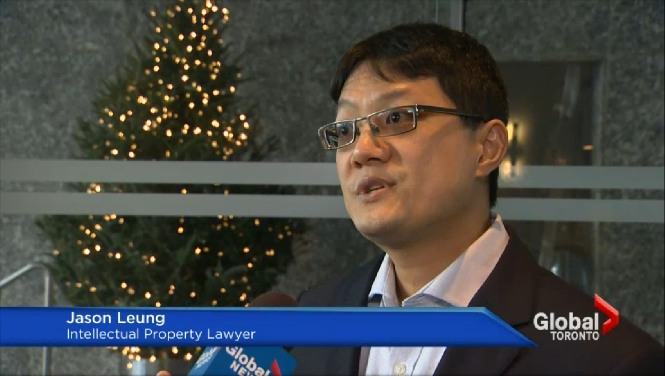 Jason Leung intellectual property lawyer Toronto LeungLaw