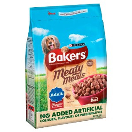 Bakers Adult Meaty Meals Beef