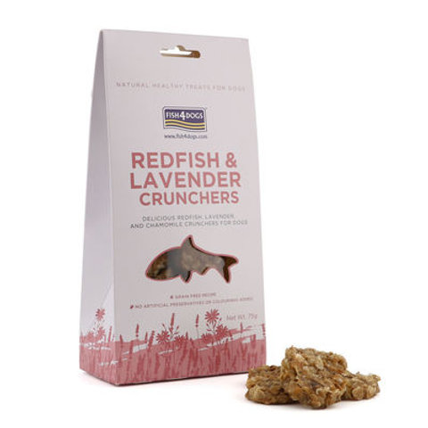 Redfish & Lavender Crunchers