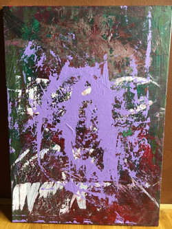 50cm x 70cm Acryl auf Leinwand