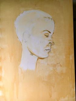 90cm x 1,30m Acryl auf Leinwand