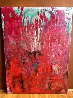 90cm x 1,20m Acryl auf Leinwand