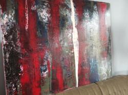 130cm x 100cm Öl und Acryl auf Leinwand