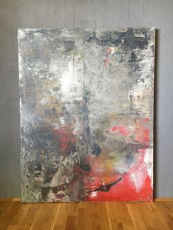 100cm x 130cm Acryl auf Leinwand