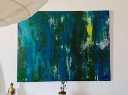 Acryl auf Leinwand (verkauft)