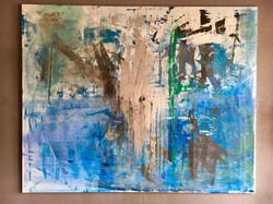 1,60m x 2,00m Acryl auf Leinwand