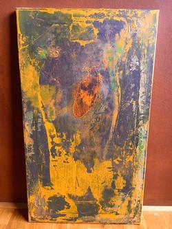 40 cm x 70 cm Acryl auf Leinwand