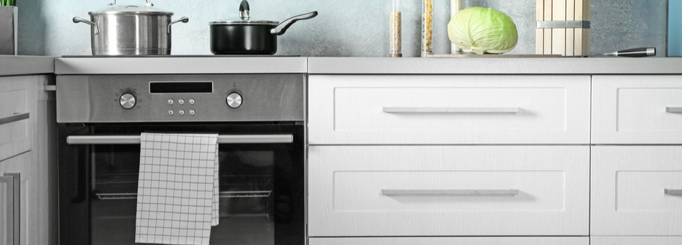 White Shaker with Oven