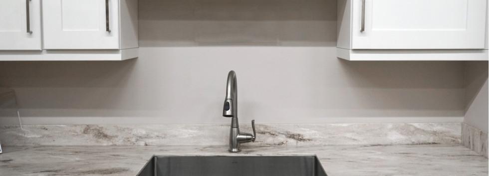 White Shaker Sink