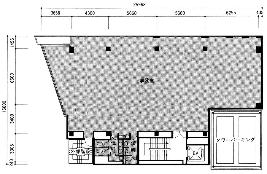 東神田堀商ビル 平面図