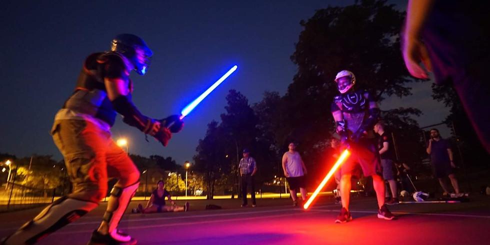 Friday Night Lightsaber Fights