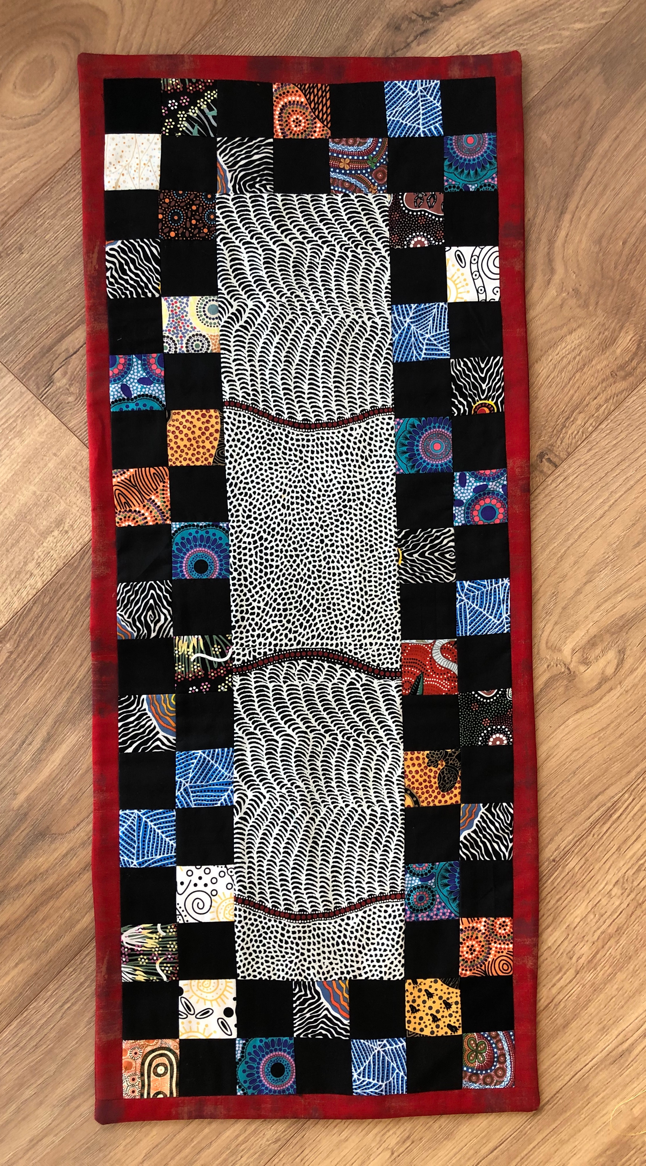 Walkabout Quilted Runner