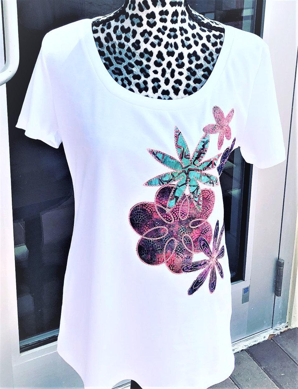 Applique T-shirt from Scratch