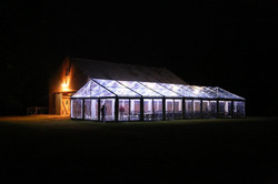 Clear Roof Marquee 9m x 21m