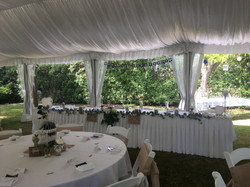 Bridal Table Marquee