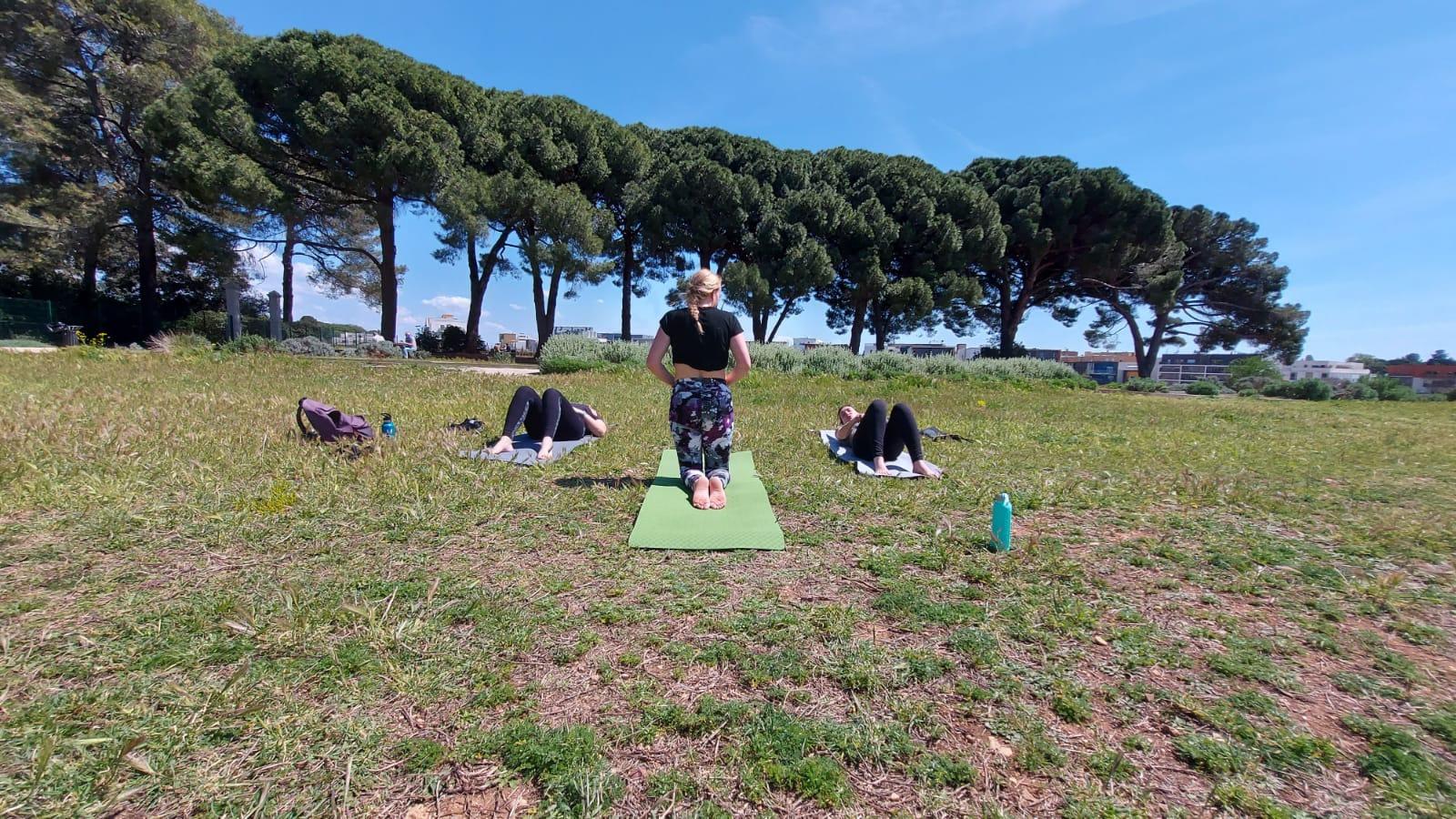 Pilates adultes groupe débutants