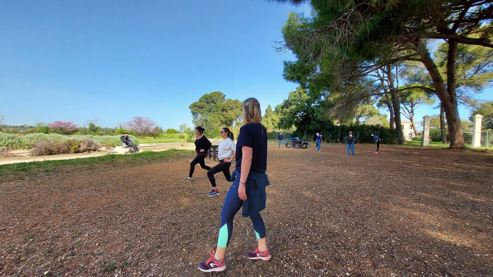 Fitness entretien du corps en extérieur