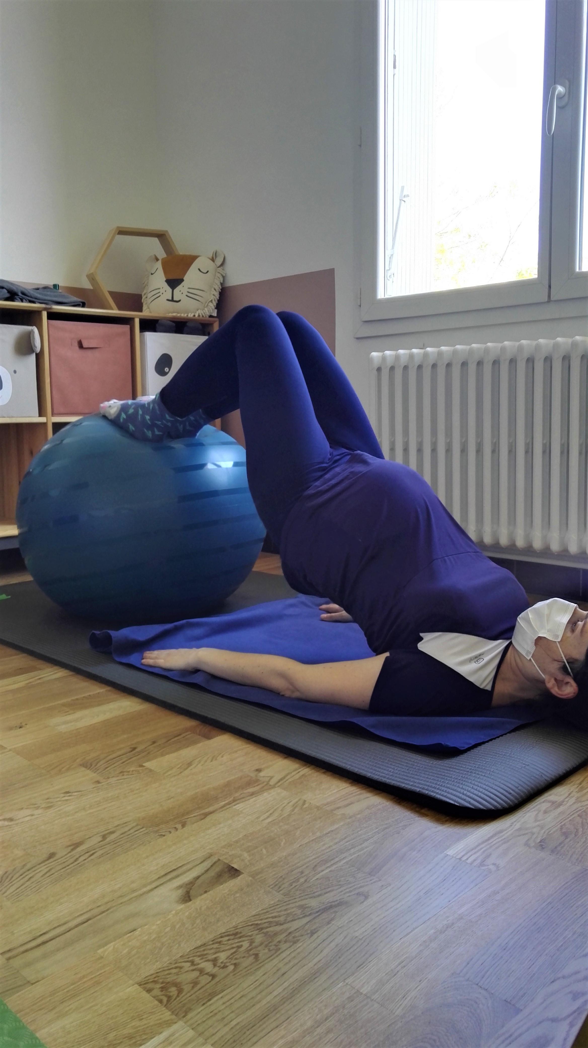 Pilates pré et postnatal