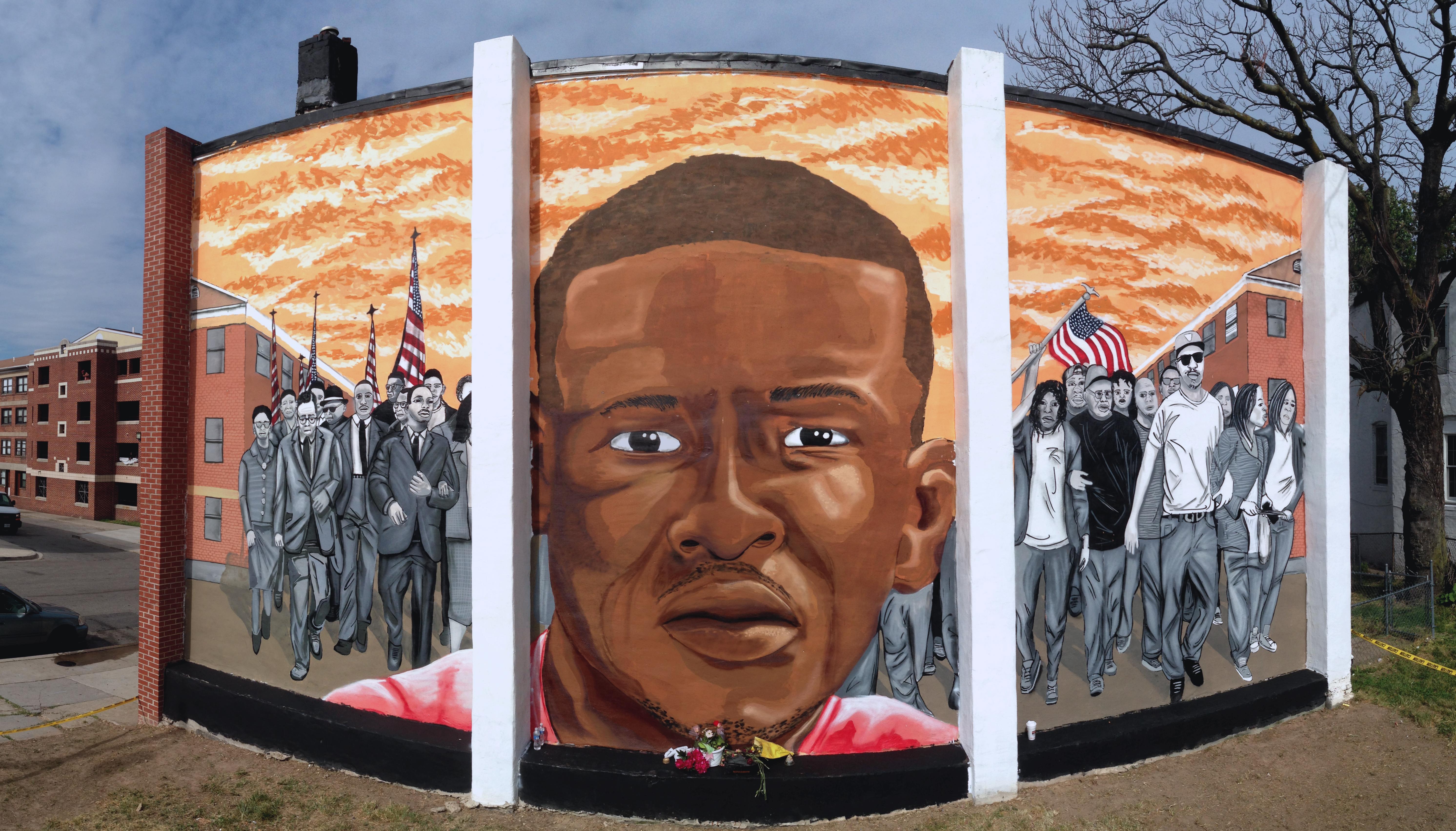 The Freddie Gray Mural