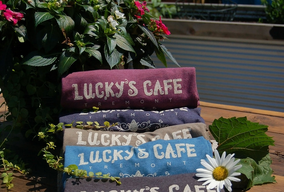 Lucky's Crew Neck T-shirt (multiple color options)