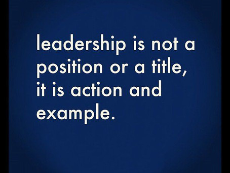 Leadership Series X – Emphasis of Title