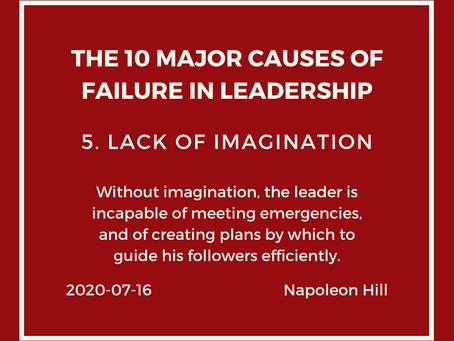 Leadership Series V Lack of Imagination