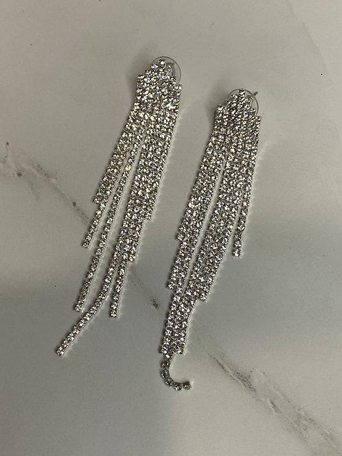 Rhinestone Earrings 04