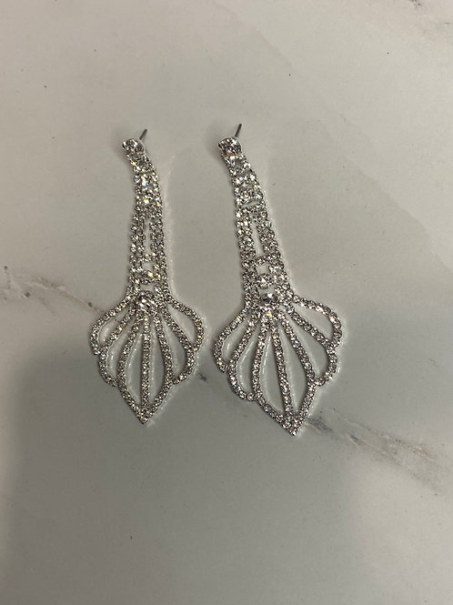 Rhinestone Earrings 03