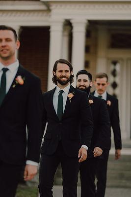 Groomsmen Entering at a Nashville Wedding