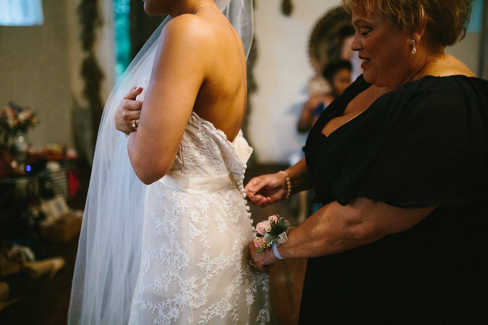 Mother and Daughter - Wedding Dress