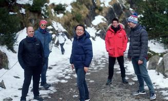 "Trekking in Benasque during ""Nanolight 2020"""
