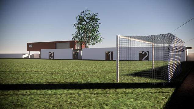 Campo de Fútbol en Ablaña - Mieres